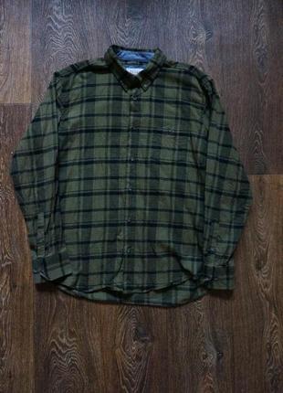 Стильная мужская рубашка в клетку watsons 100%