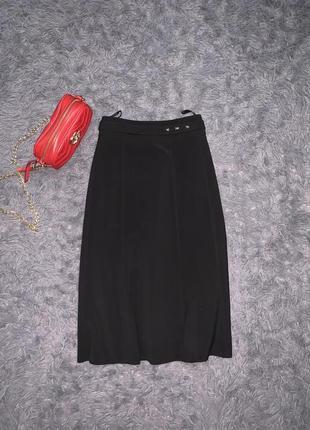 Брендовая классическая чёрная юбка  бренд всеми известный fabiani  размер указан 42/50