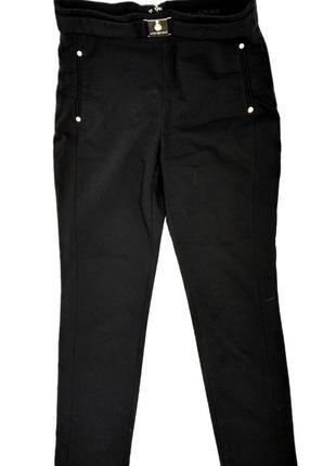 Брюки с высокой талией черные love republic артикул lo022ewutb76 штаны лав репаблик