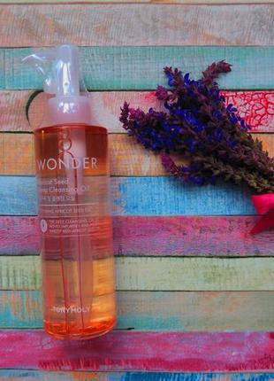 Гидрофильное масло из абрикосовых косточек tony moly wonder apricot seed