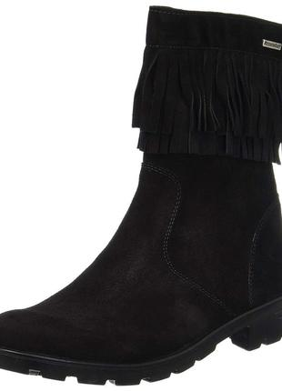 Замшевые термо ботинки 38 размер