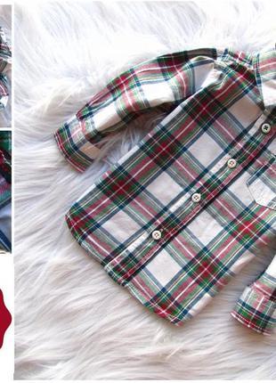 Качественная и стильная рубашка  c&a