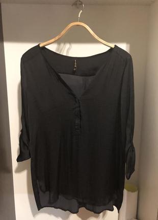 Блузка  рубашка stradivarius