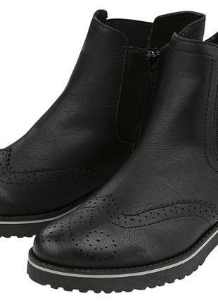 Челси комфортные и легкие ботинки  c амортизирующей и противоскользящей подошвой 38 размер
