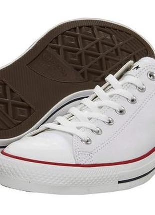 Converse all star chuck taylor кожаные кеды кроссовки унисекс