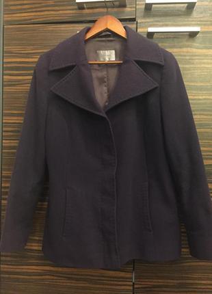 Кашемировое пальто английского бренда john lewis