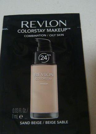 Revlon стойкий тональный крем colorstay makeup. есть подарки.