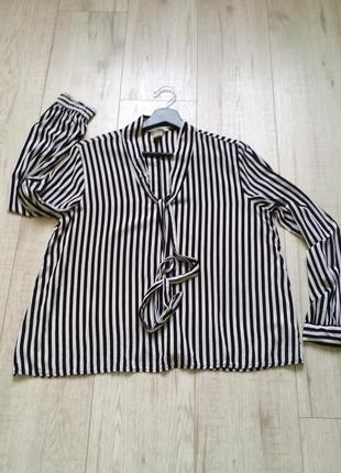 Блуза в полоску h&m
