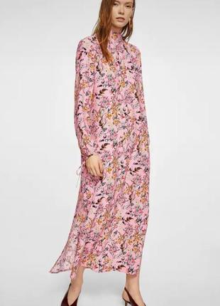 Платье макси от mango