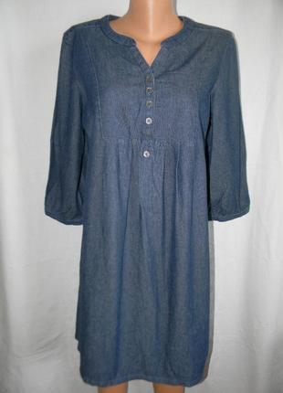 Джинсовое платье f&f