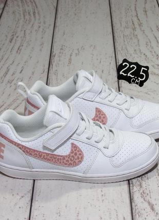 Nike оригинал кожаные кроссовки