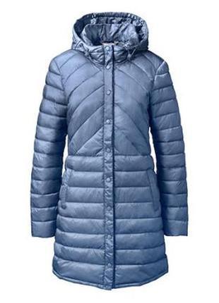 Стеганое ультралегкое теплое демисезонное пальто tchibo , германия