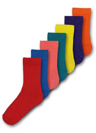 Носки, 7 шт. в уп., tu, англия. на размер обуви 44-47