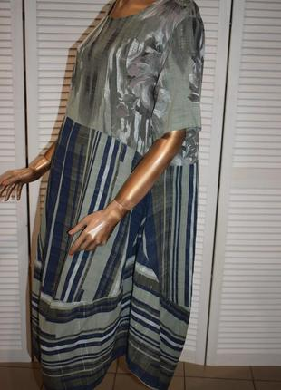 Платье в стиле бохо made in italy