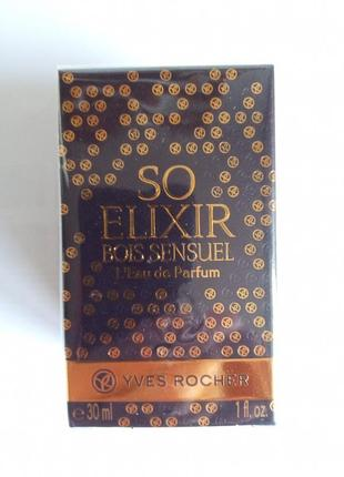 "Парфюмированная вода ""so elixir bois sensuel"" от yves rocher франция"