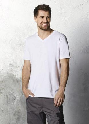 Базовая белая футболка р. евро 52-54 l livergy германия