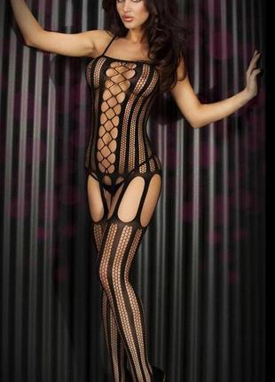 Эротический сексуальный комбинезон боди сетка sexy белье бодистокинг body stocking