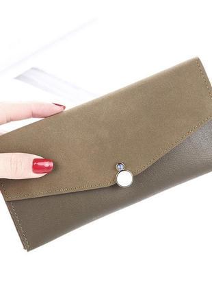 Новый шикарный стильный кошелек портмоне, клатч zara