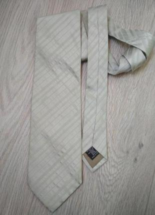 Шелковый галстук armani colezioni