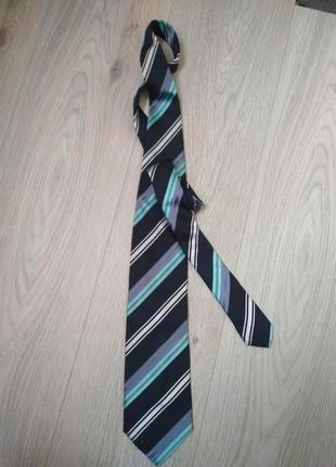 Шелковый галстук giorgio armani