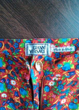 Джинсы штаны брюки mom s versace