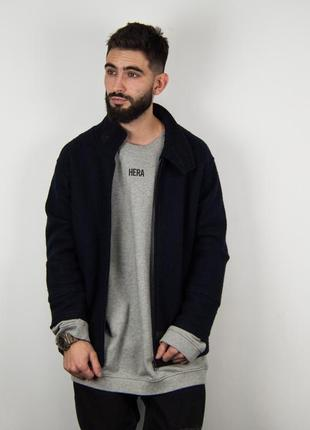 Paul smith ассиметричное шерстяное пальто - овершот