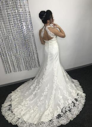 Потрясающее свадебное платье от couture jasmine!  а- силует, силует рыбка!
