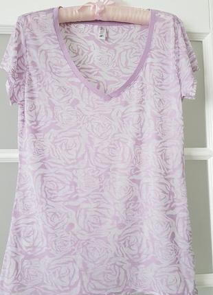 Victoria's secret нежнейшая футболка размер s-m