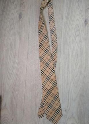 Галстук burberry натуральный шелк