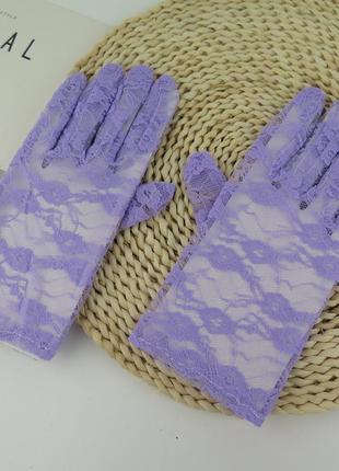 5-24 мереживні рукавички кружевные перчатки