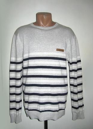 Мужской джемпер свитер лонгслив mckenzie размер l