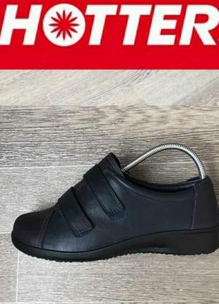 Hotter comfort кожаные ортопедические туфли 39р