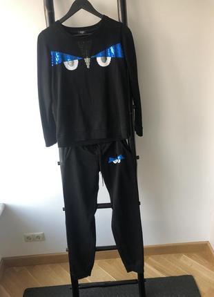 Спортивный костюм «фенди»