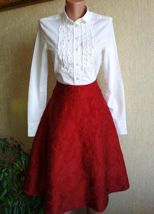 Стильная брендовая юбка на подкладке,р.38