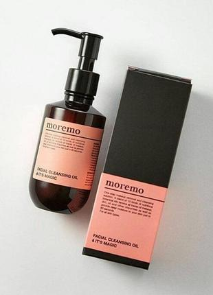 Гидрофильное масло moremo facial cleansing oil it's magic