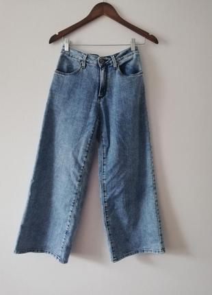 Мтильные женские джинсовые кюлоты