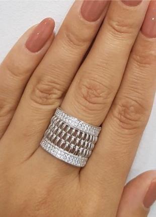 Кольцо серебро 925 кассандра лк0257