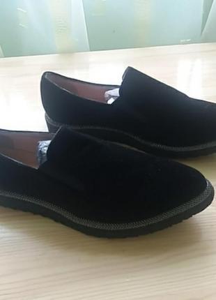 Велюрові туфлі