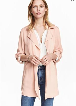 Тренч легкая куртка накидка кардиган тз лиоцелла