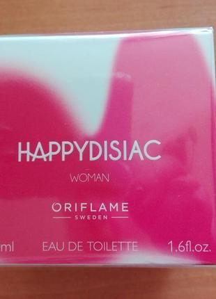 Туалетна вода happydisiac woman орифлейм