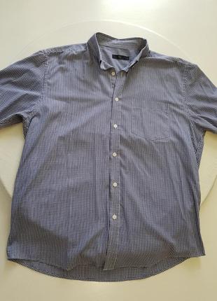 Рубашка в мелкую клетку 17р