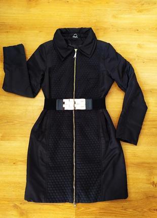 Очень удобное и красивое демисизонное пальто, р.42-44