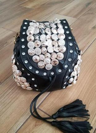 Красивый  женский рюкзак-сумка