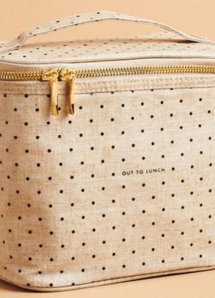 Люкс! шикарная сумочка для ланча, косметичка от kate spade.