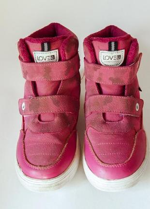 Супер удобные кроссовки-сникерсы для девочки