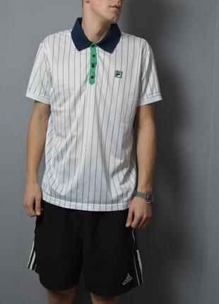 Крутое поло fila polo shirt