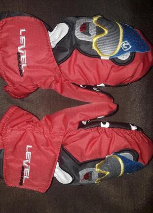 Варежки рукавички для малышей level hend