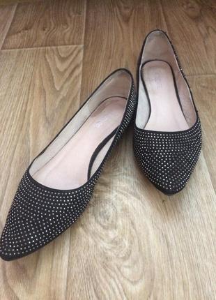 Невероятно красивые туфли балетки в камнях от mitaton attizare