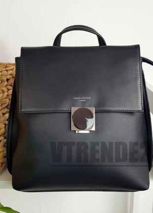 Бесплатная доставка #9208 black  стильный деловой рюкзак люкс качества!
