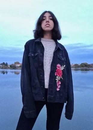 Крутая женская джинсовка от river island